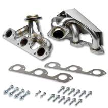 DNA Motoring HDSJCW0738 Stainless Steel Exhaust Header Manifold