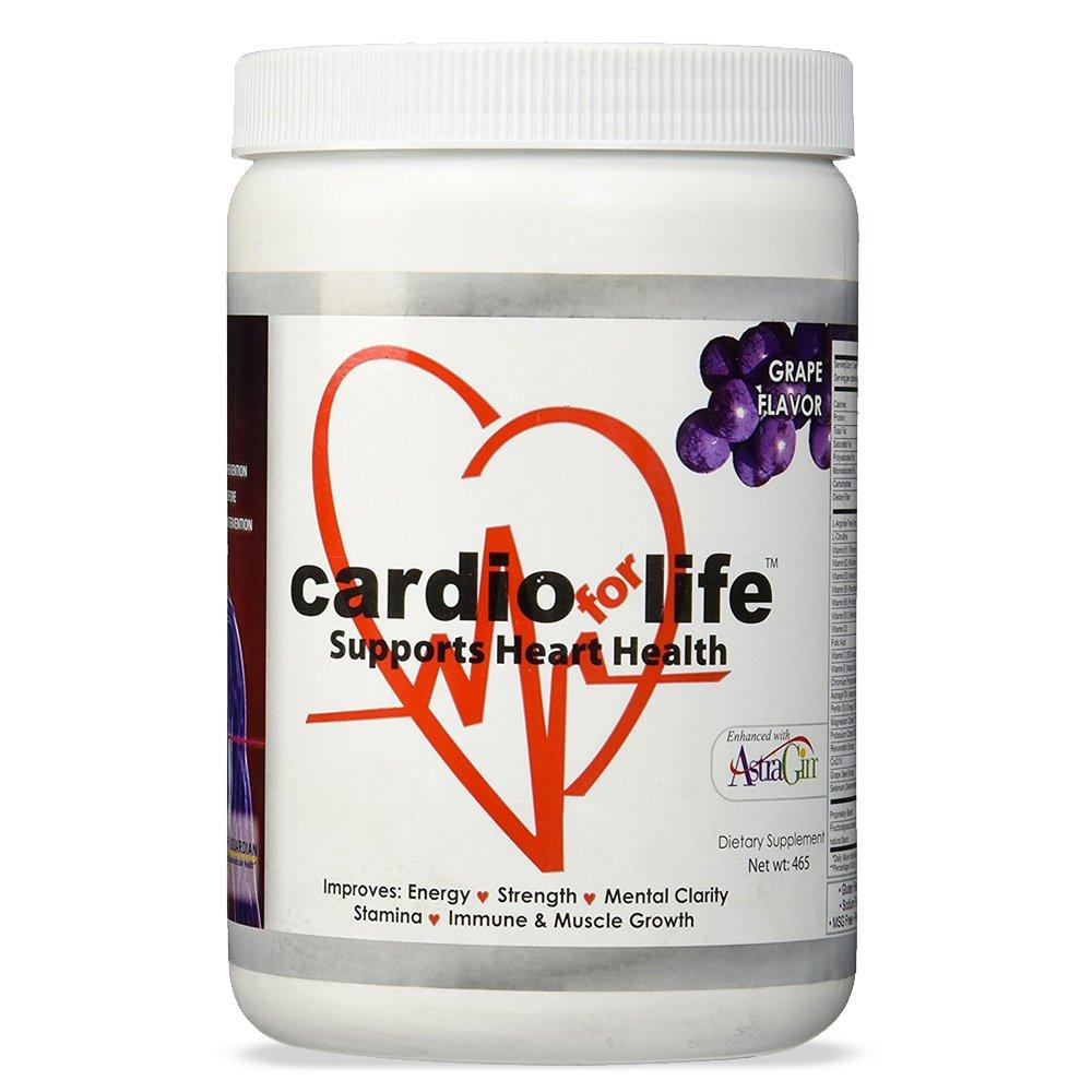 CardioForLife - 16 oz. Powder w/ AstraGin - Grape Flavor