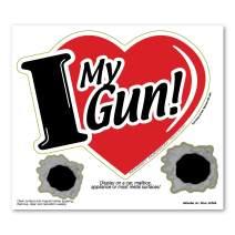 I Love My Gun 3 in 1 Magnet