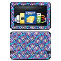 """Kindle Fire HD 8.9"""" Skin Kit/Decal - Fly Away Teal (will not fit HDX models)"""