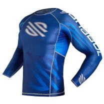 Series 1 Base Layer Compression MMA BJJ Cross Training Rash Guard with New Fit