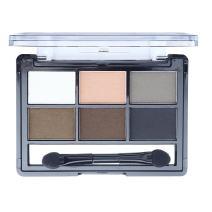 Mallofusa 6 Colors Eye Shadow Palette Eyeshadow Powder Makeup Kit Shimmer Matte Smokey 0.42 oz #3
