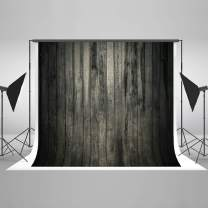 Kate 7x5ft Wood Backdrop Dark Wood Wall Pattern Photo Background for Photo Studio Portrait Prop