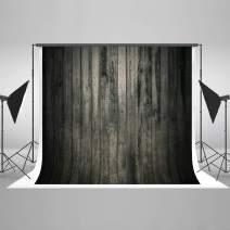 Kate 7x5ft Wood Backdrop Dark Wood Wall Pattern Photo Background for Photo Studio Portrait Prop