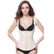 Wonder-Beauty Latex Waist Trainer Vest Firm Compression Underbust Shapewear