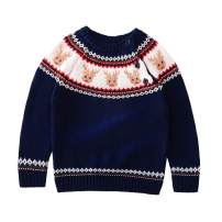 Motteecity Boys Girls Clothes Unisex Adorable Xmas Woolen Warm Pullover Sweater