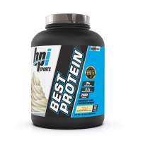 BPI Sports Best Protein – 100% Whey Protein Blend – Muscle Growth, Recovery, Meal Replacement – No Maltodextrin, No Fillers – Gluten Free – For Men & Women – Vanilla Swirl – 5 Pounds