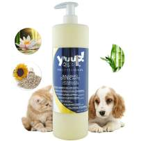 YUUP! Italy Home & Professional Detangling Conditioner for Dogs and Cats - Dog Conditioner Soothing, Repairing & Glossing - Especially for Damaged & Tangled Coat(17 oz/ 33.8 oz)