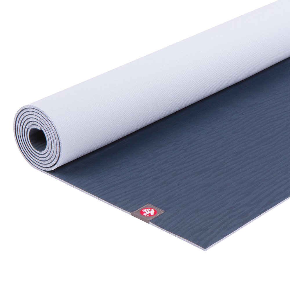 Manduka eKO Yoga Mat – Premium 5mm Thick Mat, Eco Friendly and Made from Natural Tree Rubber.  Ultimate Catch Grip for Superior Traction, Dense Cushioning for Support and Stability in Yoga, Pilates, and General Fitness