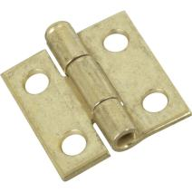 National Hardware N141-622 V508 Removable Pin Hinges in Brass, 2 pack