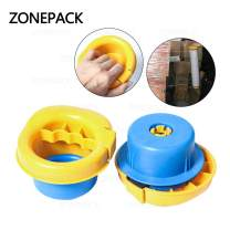 "ZONEPACK Manual Stretch Film Wrap Dispenser Holds 12"" to 20"" Stretch Film Light Weight Pallet Wrapper Stretch Film Packing Machine (Plastic)"