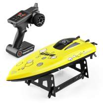 RC Boat for Adults & Kids,TOYEN High-Speed Electronic Remote Control Racing Boat Indoor/Outdoor Toy for Pools and Lakes(Only Works in Water)
