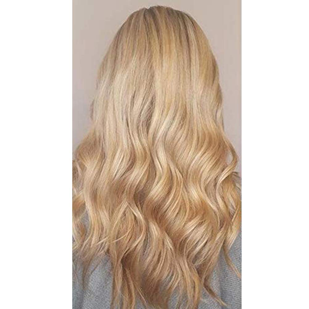 Moresoo 16 Inch Seamless Skin Weft Tape on Hair Extensions Caramel Blonde Color #27 Straight Unprocessed Remy Human Hair 20pcs/50g Thick to End