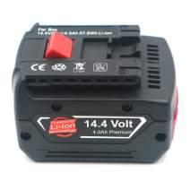 Replacement 14.4V 5000mAh Li-ion battery for BOSCH BAT607 BAT614 (bos14.4b14.4v 5.0Ah Li-ion battery)