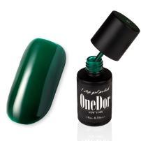 OneDor® One Step Gel Polish UV Led Cured Required Soak Off Nail Polish No Base or Top Coat Nail Need (06-Dark Teal)