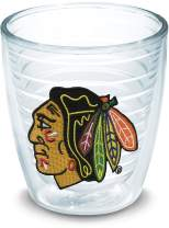 Tervis NHL Chicago Blackhawks Primary Logo Tumbler with Emblem 12oz, Clear