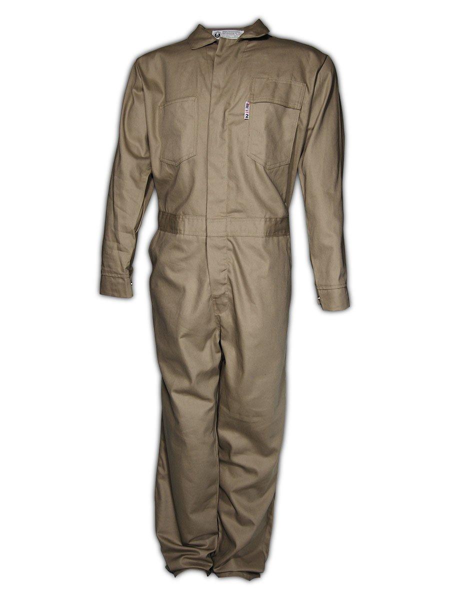 Magid Safety 3540KH3XL A.R.C. NFPA 70E Standard Coveralls, 3X-Large, Khaki