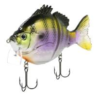 "FishLab BGW-4-DB Bio Gill Wake Bait Floating Dark Bluegill 4"" 7/8 oz"
