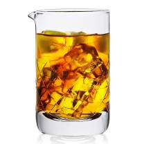 Mixing Glass,Crystal Cocktail Mixing Glass 20 OZ, Stir Glass, Premium Bar Mixing Glass, Mixer Glass-Professional Quality