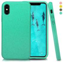 Inbeage Biodegradable iPhone X/Xs Phone Case,Eco-Friendly,Durable,Slim (Kelly Green)