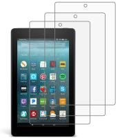 [3 Pack] Gzerma Screen protector for Amazon Fire 7 7th Generation and Fire7 Kids Edition 2017, High Definition HD Clear & Childproof & Shock Proof Protective Film Shield for Kindle Fire 7 tablet 7 inch
