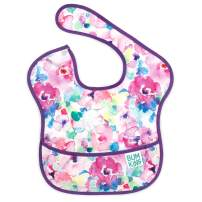 Bumkins SuperBib, Baby Bib, Waterproof, Washable, Stain and Odor Resistant, 6-24 Months, Watercolor, 1-Pack