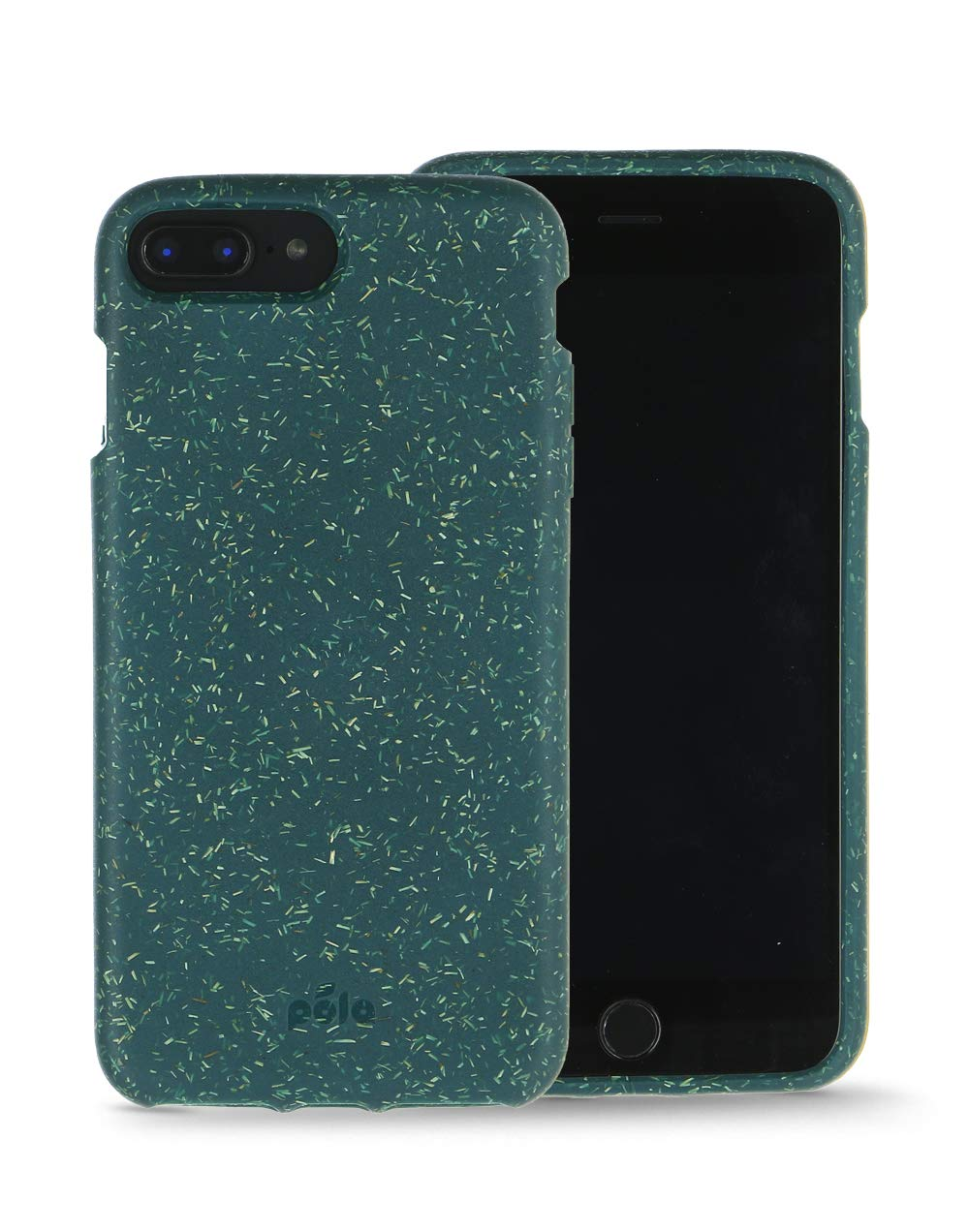 Pela: Phone Case for iPhone 6/6s/7/8/SE - 100% Compostable and Biodegradable - Eco-Friendly - Made from Plants (6/6s/7/8/SE Green)