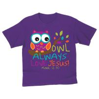 Kidz T - Owl - Christian Fashion Gifts