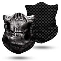 Bandanas Headband - Sport Outdoor Headband Skull Face Multifunctional Headwear Motorcycling Headwrap