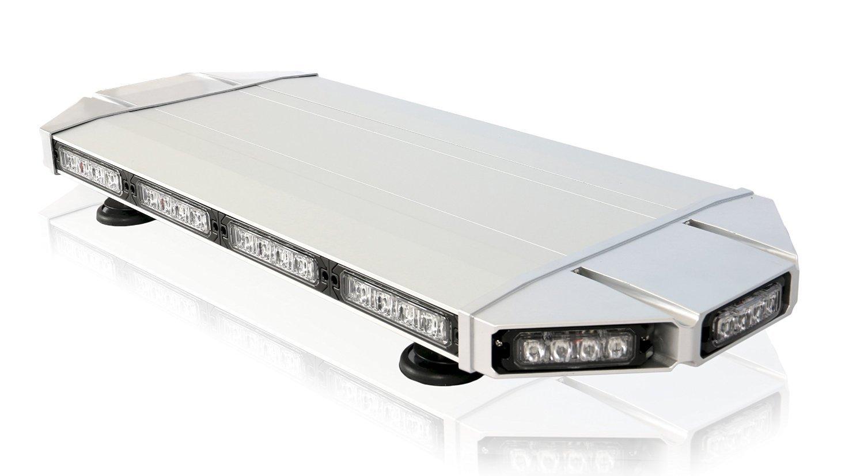 "ThunderEye 27"" Inch Low Profile Magnetic Roof Mount Mini LED Light Bar - Amber/White"