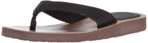 Women's Scott Vegan Leather Hauoli Sandals | Lightweight Flexible Flip-Flops