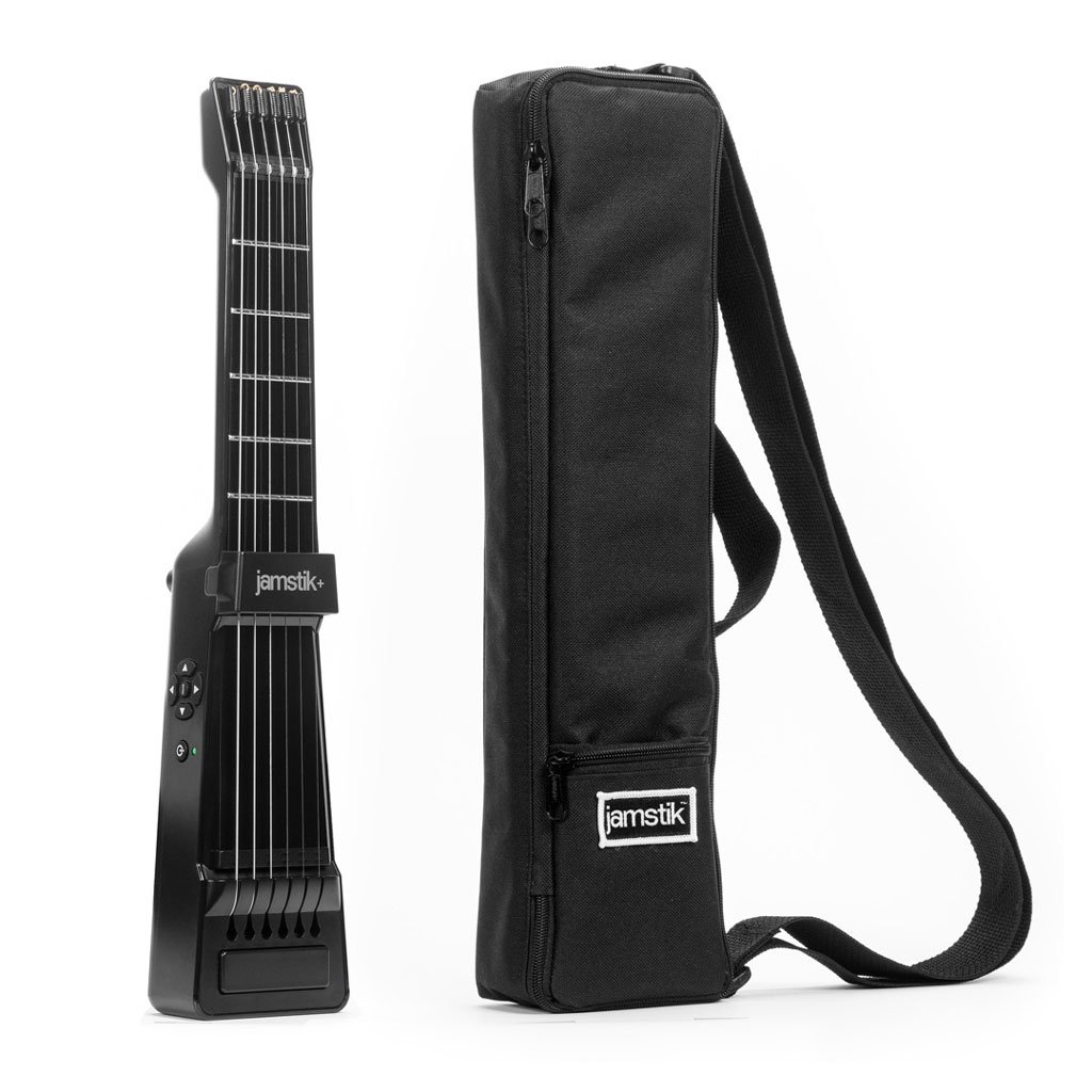 Zivix, 6-String Jamstik Smart Guitar, Right Handed (J-BLE-BK-R-CS)