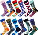 Dress Socks for Men & Women,Colorful Funny Crazy Novelty Fun Dress Socks Pack, Bonangel Cool Pattern Crew Socks Gift for Men