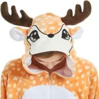 qqonsie Unisex Adult Onesie Pajamas for Women Men Teens Onsie Pijama Costume Pj
