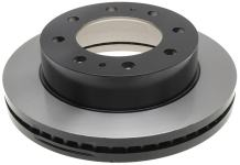ACDelco Gold 18A1193 Black Hat Front Disc Brake Rotor
