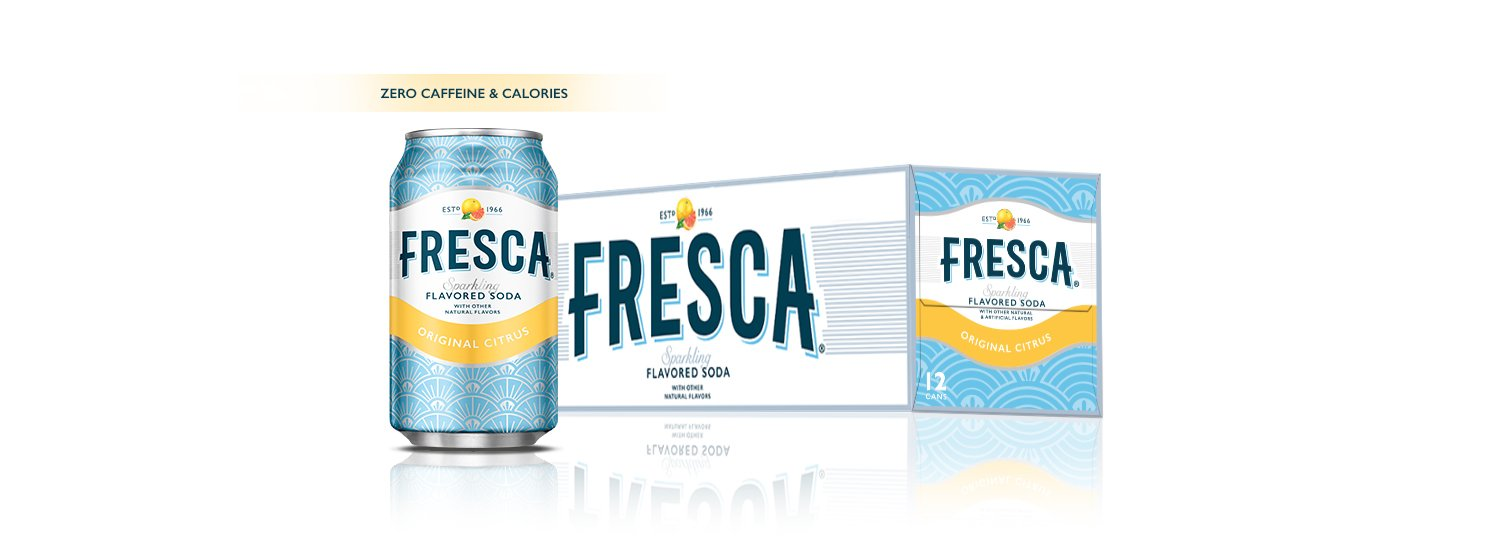 Fresca Citrus Soda, 12 Ounce  (pack of 12)