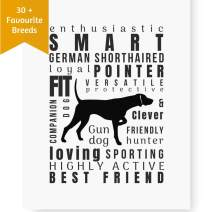 Dog Décor German Shorthaired Pointer Wall Art - Quote Print (8.5x11 Unframed)   Pet Memorial Gifts   Dog Mom Gifts   New Puppy Gift   German Shorthair Pointer Gifts for Dog Lovers