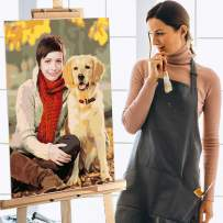 Custom Paint by Numbers for Adults DIY Photo Personalise Digital Oil Painting with Your Own Picture for Home Wall Decor Gift