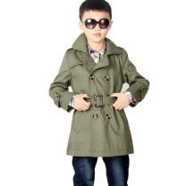 LJYH Big Toddler Boys' Classic Peacoat Hooded Toggle Coat