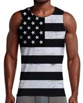 NEWISTAR Mens 3D Tank Tops All Over Print Sleeveless Shirt for Casual Gym Sports S-XXL