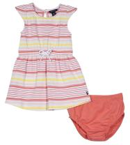 Nautica Girls Short Sleeve Fashion Dress