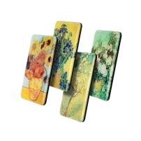 Fridge Magnets for Refrigerator Van Gogh Sunflower Flowers Art Decorative for Locker Whiteboards Offices Gifts for Kids Adults and Art Lover (van gogh B)