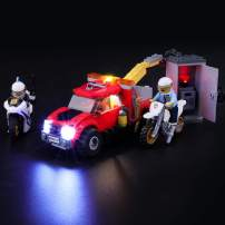 BRIKSMAX Led Lighting Kit for City Police Tow Truck Trouble - Compatible with Lego 60137 Building Blocks Model- Not Include The Lego Set