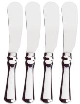 Amco Stainless Steel Spreader, Silver, Set of 4 - 8452