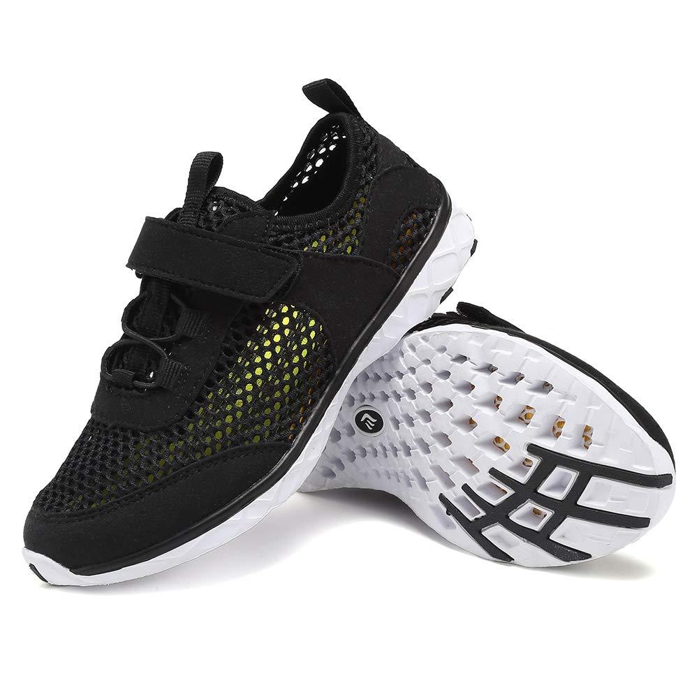 FANTURE Boys & Girls Water Shoes Aqua Swim Shoes Athletic Sneakers  Lightweight Sport Quick Dry Kids Walking Shoes (Toddler/Little Kids/Big Kids )