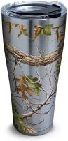 Tervis 1262141 Realtree - Xtra Green Knockout Stainless Steel Tumbler with Clear and Black Hammer Lid 30oz, Silver