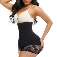 Irisnaya Waist Trainer for Women Butt Lifter Shapewear Tummy Control Panty High Waist Body Shaper Shorts Slimming Girdle