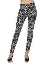NioBe Clothing High Waist Ultra Soft Womens Plus Size Fashion Leggings (Collection 2)