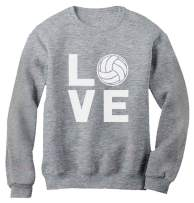 TeeStars - Love Volleyball for Volleyball Fans Women Sweatshirt