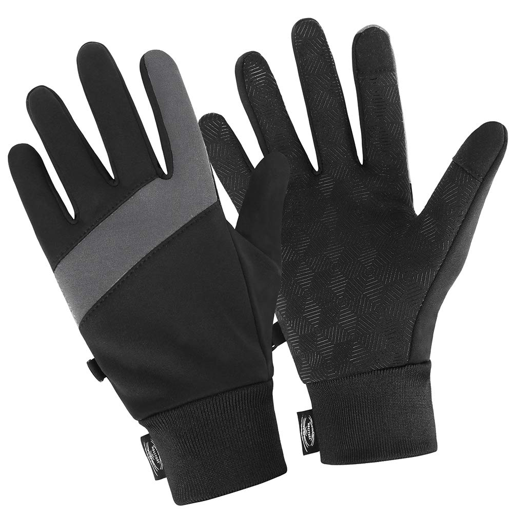 HBESTORE Winter Warm Gloves, Handschuhe Winter, Touch Screen Gloves,Thin Warm Gloves, Driving Running Cycling Texting Snowboarding Exercise and Outdoor Sports Cold Weather Gloves for Men and Women